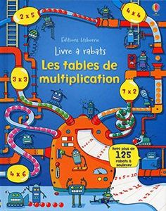Je souhaitais vous présenter un ouvrage entièrement consacré à la mémorisation des tables de multiplication. Sa grande originalité est de s'appuyer sur la curiosité des enfants pour faciliter l'apprentissage. En effet, le livre consacre une double page à chaque table (jusqu'à 12) sur laquelle des questions sont posées et mises en scène dans des décors attrayants …