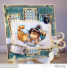 Whiff of Joy Digi Maya called Thinking of you and two new Digitalpapers by Whiff of Joy