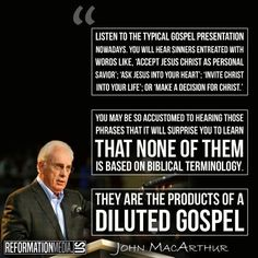 Products of a diluted Gospel ~ John MacArthur Christian Life, Christian Quotes, Faith Quotes, Bible Quotes, Great Quotes, Inspirational Quotes, Spirit Of Truth, John Macarthur, Soli Deo Gloria