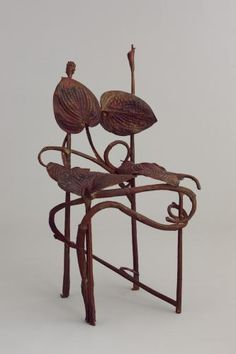 Francois-Xavier & Claude Lalanne THE CHAIR MADeE OUT OF LEAVEES
