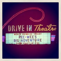 Drive In Pee Wee