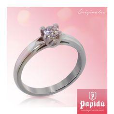 El anillo ideal para esa persona con la quieres pasar el resto de tu vida lo encuentras en #JoyeriaPapidu