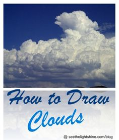 How to draw dramatic skies and clouds