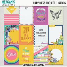 Happiness Project | Cards