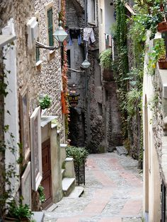 "Dolceacqua, Liguria, N Italy.....pretty, and the town name translates to ""sweet water"""
