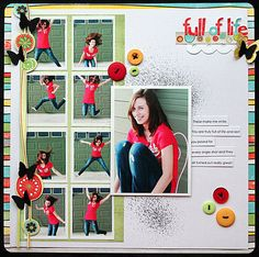 full of life - a 9 photo layout by Elizabeth Carney