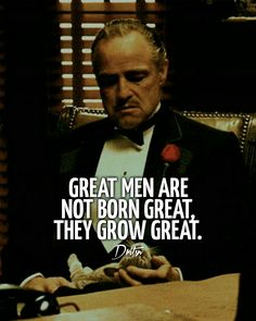 Godfather Quotes, The Godfather, Business Motivation, Motivation Quotes, Best Quotes, Funny Quotes, Italian Quotes, Warrior Quotes, Startup