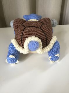 Ravelry: Blastoise pattern by Edward Yong New Adventures, Ravelry, Things To Think About, Projects To Try, Pokemon, Crochet Hats, Pattern, Fun, Crocheting