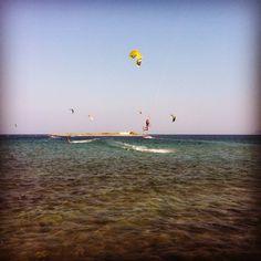 Nissakia kitesurf www.kiteadvisor.gr International Airport, East Coast, Athens, Greece, Beach, Travel, Kitesurfing, Greece Country, Viajes