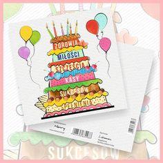 Kartka - Urodzinowa (KW) | KARTKI OKOLICZNOŚCIOWE \ Urodziny / Imieniny \ Drukowane | Tytuł sklepu zmienisz w dziale MODERACJA \ SEO