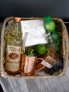 moscow mule gift basket ideas