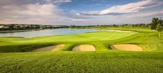 Hole view back to Tee, Fontana Golfclub, Austria Austria, Golf Courses, Spaces