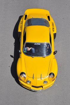 Renault Alpine Clásico y parece no envejecer