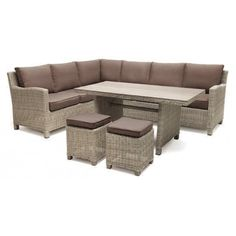 Buy Rattan KETTLER Palma 8 Seater Garden Corner Lounging Table and Chairs Set from our Garden Seating range at John Lewis & Partners. Free Delivery on orders over Wooden Garden Furniture, Rattan Furniture, Outdoor Furniture Sets, Rattan Chairs, Table And Chair Sets, Dining Table Chairs, A Table, Table Covers, Garden Sofa Set
