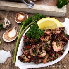 Oktopus Salat | Gaumenpoesie