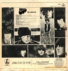 back of the rubber soul album