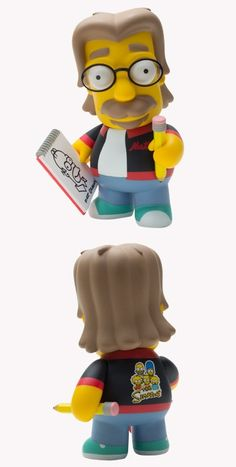 Simpsons Matt Groening Art Toyz