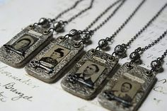 I love this idea. Now to find the pendant. Gotta have these for my ancestral pics!