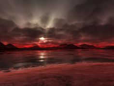 Magic words and image Beautiful Sunset, Beautiful Places, Beautiful Pictures, Amazing Places, Beautiful Scenery, Red Sunset, Water Spots, Fauna, Moonlight