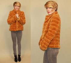 Hey, I found this really awesome Etsy listing at https://www.etsy.com/listing/119113570/gold-faux-fur-coat-bomber-jacket-puffy