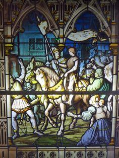 Jeanne d'Arc à Rouen - fantastic pictures  http://www.pinterest.com/adisavoiaditrev/