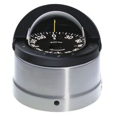 Ritchie DNP-200 Navigator Compass - Binnacle Mount - Polished Stainless Steel/Black - https://www.boatpartsforless.com/shop/ritchie-dnp-200-navigator-compass-binnacle-mount-polished-stainless-steelblack/