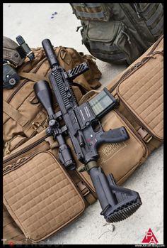 "VFC's ""Elite Force HK417 Rifle"""