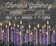 Ladies: Join us at our Women's Christmas Gathering at WINGS Event Center on Saturday December 5th from 7-10pm.  This will be a great night of worship through singing and teaching of the word. We will also be carving out plenty of time for fellowship. If you would like to attend please RSVP via the blog post at http://ift.tt/1f30MYY  #winter #womensgathering #advent #december #edmond #wingseventcenter #oklahomacity #redemptionwomen