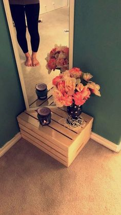 You don't need to use a great deal of things to create a hippie bedroom. A little bedroom with its hippie design interior can be absolutely the most i. bathroom decor bedroom decor decoration for home Hippy Bedroom, Dream Bedroom, Home Bedroom, Bedroom Furniture, Furniture Decor, Mirror Bedroom, Apartment Furniture, Diy Bedroom Decor, Cute Apartment Decor