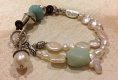 Hey, I found this really awesome Etsy listing at https://www.etsy.com/listing/164133136/unique-bracelet-of-freshwater-pearl