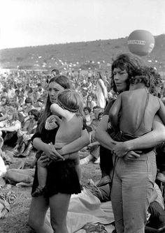 Woodstock mumma's. Thousands of kids enjoyed it too & slept sometimes...