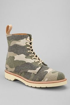 Dr. Martens Beckett 8-Eye Camouflage Boot