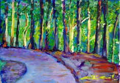 Glory Path Giclee x on Stretched Canvas Glory Road, Prophetic Art, Stretched Canvas, Petra, Worship, Jesus Christ, Angels, Artwork, Painting