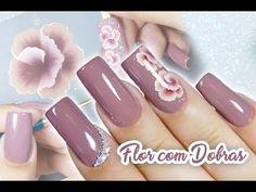 Nail Polish, Nails, Beauty, Youtube, Flower Nails, Nail Design, Nail Bling, Designed Nails, Work Nails