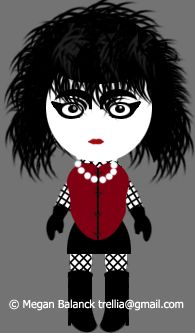 The Original Goth. Whether they were actually around in the 80s or not, the Trad Goth most values the traditional scene from its earliest days, when it began to evolve from Punk.    Trad Goths venerate those original Goth bands - Bauhaus, Siouxsie and the Banshees, The Birthday Party, The Sisters of Mercy and anything played in the infamous Batcave club. Other influential bands (e.g. The Velvet Underground) may also be revered as minor deities.