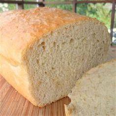 Bread Machine Light Oat Bread