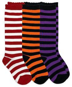 d7d1977fe7e 1618 Stripe Knee High Triple Treat 3 Pair Pack. Socks in Stock · Toddler    Girls ...