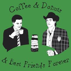 Twin Peaks - Sheriff Harry and Agent Cooper