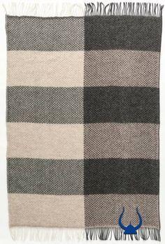 Álafoss Wool Blanket (2008) - Wool Blanket - Shop Icelandic Products - 1