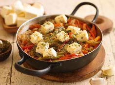 Cazuela de verduras a la griega - Maru Botana