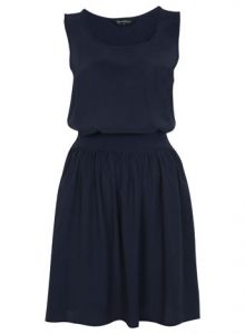 navy blue dress- what about this Jen? I'd get you a silver belt!