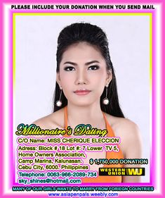 Filipino Dating, Filipino Girl, Asian Dating, Millionaire Matchmaker, Millionaire Dating, Best Free Dating Sites, Dating Apps, Looking For Marriage, European Dating