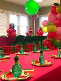 Watermelon Birthday, Birthdays, Birthday Cake, Party Ideas, Table Decorations, Baby, Birthday Cakes, Birthday, Newborn Babies