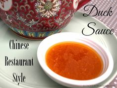 Chinese Restaurant-Style Duck Sauce Recipe - Create with Claudia Cashew Chicken, Chicken Stir Fry, Sauce Chinoise, Sauce Recipes, Cooking Recipes, Dip Recipes, Chinese Cabbage, Chinese Food, Chinese Vegetables