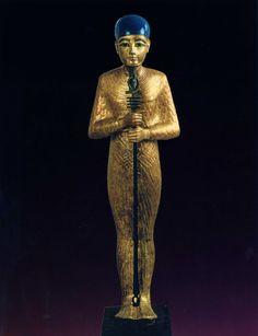 golden statue god