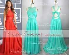 2014 prom dress Gorgeous Backless Floor Length by CassieFashion, $149.00