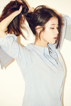 IU for GQ Korea magazine December 2015 issue Kpop Girl Groups, Kpop Girls, Korean Beauty, Asian Beauty, Asian Woman, Asian Girl, Pretty People, Beautiful People, Oppa Gangnam Style