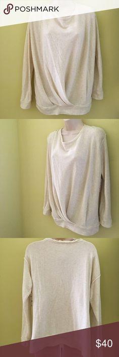 Free People oatmeal cream sweatshirt terry S NWT Free People oatmeal cream sweatshirt terry S NWT Free People Tops Sweatshirts & Hoodies