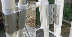 PVC Snap Hinge. Now I can easily make doors and vents on my PVC greenhouse! Thank You Circo Innovations!