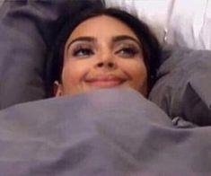 How i feel about pto at this point - Kim Kardashian in bed Kim Kardashian Meme, Meme Faces, Funny Faces, Future Memes, Happy Crying, Sleep Meme, Current Mood Meme, Wholesome Memes, Stupid Funny Memes